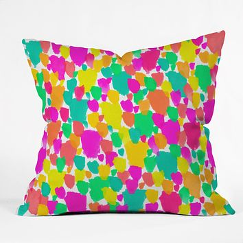 Rebecca Allen Color Field Throw Pillow
