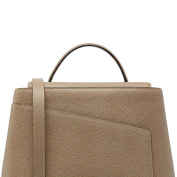 Valextra - Twist 3 Leather Tote