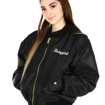 BABYGIRL BOMBER from Shop Jeen