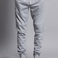 Athletic Solid Color Cotton Sweatpants With Zipper Pockets 17191-1580 - DD7B