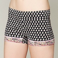 Free People  Printed Yoga Shorts at Free People Clothing Boutique