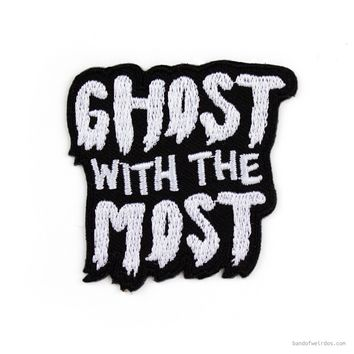 GHOST WITH THE MOST // PATCH