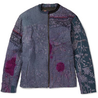By Walid - Patchwork Bomber Jacket | MR PORTER