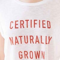 Certified Naturally Grown Tee - Urban Outfitters