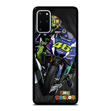 MOTO GP ROSSI THE DOCTOR STYLE Samsung Galaxy S20 Plus Case