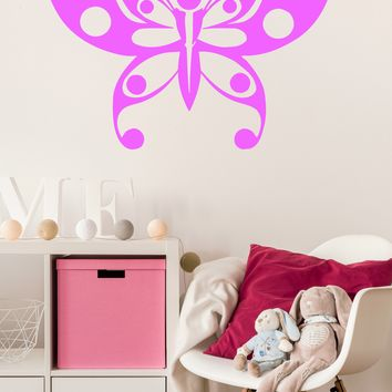 Large Vinyl Decal Wall Sticker Amazing Beauty Butterfly Home Decor (n945)