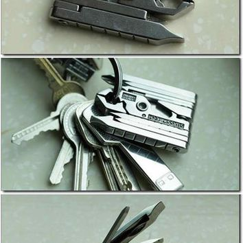 Fancy - Swiss Tech Mmcsss Micro-Max 19-in-1 Keychain Multitool