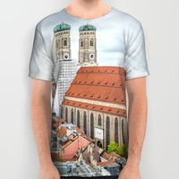 The Cathedral of Munich All Over Print Shirt by Architect´s Eye | Society6
