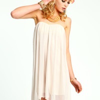 Sweetheart Gauzy Dress