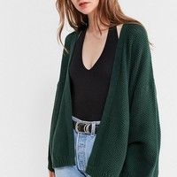 UO Kam Textured-Knit Cardigan | Urban Outfitters