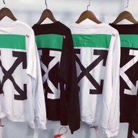 One-nice™ OFF-WHITE x NIKE Fashion Print Top Sweater Pullover