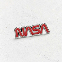 Ripple Junction NASA Worm Logo Pin | Urban Outfitters