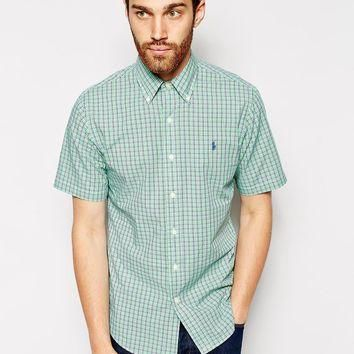 Polo Ralph Lauren Check Shirt with Short Sleeves
