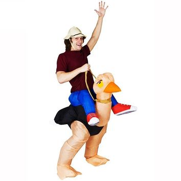 Inflatable Ostrich Costume Halloween Costume Adult Party Costume animal cosplay