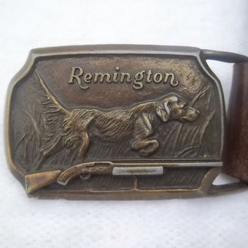 VIntage Mens Remington Belt