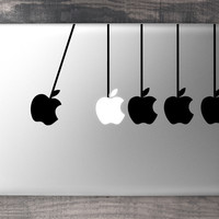 Newtons Cradle MacBook Decal