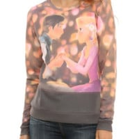 Disney Tangled Boat Girls Pullover Top