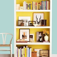 Home Sweet Apartment / clever way to add bright pop of color
