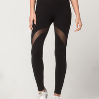 FULL TILT Mesh Inset Womens Leggings | Leggings