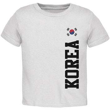 World Cup Korea Toddler T Shirt