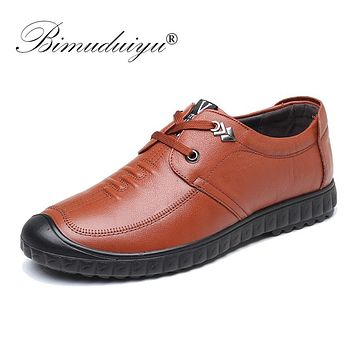 Handmade Genuine Leather Men Casual Shoes Luxury Men Shoes Black Brown Flat Shoes Leather Sneakers