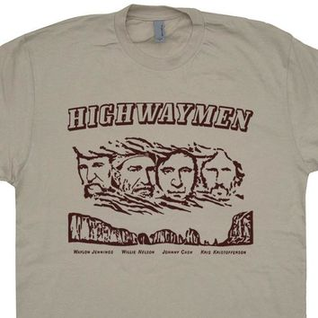 The Highwaymen T Shirt Willie Nelson Shirt Waylon Jennings Shirt Johnny Cash Shirt