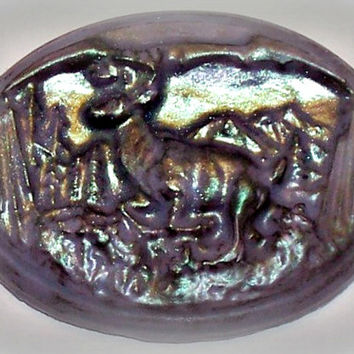 Deer Belt Buckle Soap