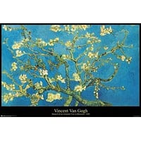 Vincent Van Gogh Almond Blossom Branch Poster 24x36