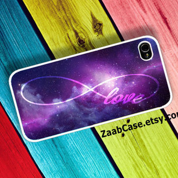 Infinity of Love , Infinity iPhone Case , Space iPhone Case : iPhone 4/4s Case , iPhone 5 Case , Galaxy S3 Case , Galaxy S4 Case
