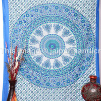 Twin Indian Mandala tapestry, Bohemian wall Hanging, hippie hippy tapestry, wall art, beach sheet, Indian Tapestry, Dorm Tapestries,