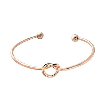 love knot bangle bracelet 2