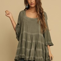 Up And Coming Oversize Tunic | Threadsence