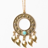 GOLD ENDLESS DREAM NECKLACE