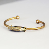 Earth Stone Bracelet – Gold/Silver