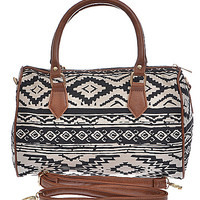 Aztec Tribal Print Bag