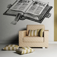 Vinyl Wall Decal Sticker Bible #5116