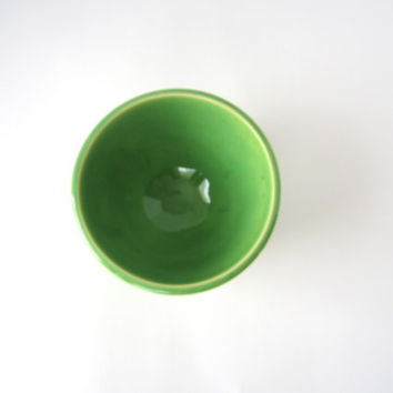 Spring Green Soup Bowl