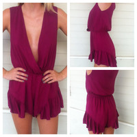 'Royal' Romper