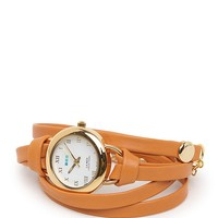La Mer Saturn Wrap Watch - Womens Jewelry - Brown - One