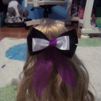 Ursula Inspired Disney Bow