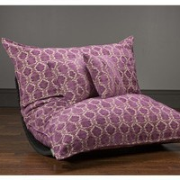 Web Exclusive Fushia Berry Chenille PillowSac Package