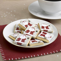 Father christmas-santa-Let it Snow - 20 Chocolate Squares great for the Christmas table