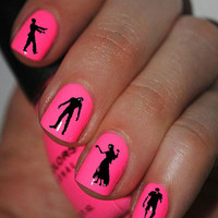 Zombie Nail Art Decals Nail Stickers