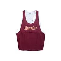 Florida State University Mesh Tank with Attached Sporty Bralette