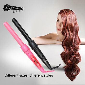 Hair Curler Machine Styling Tool Hair Curling Irons Wand Interchangeable 3 in 1 Tourmaline Ceramic Curling Iron Kits Hair Care