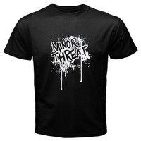 Minor Threat - Drip black T-Shirt Size S,M, L, XL, 2XL, 3XL, 4XL and 5XL .