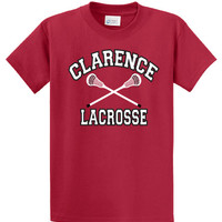 Clarence HS Mens Lacrosse Port & Company® - 50/50 Cotton/Poly T-Shirt