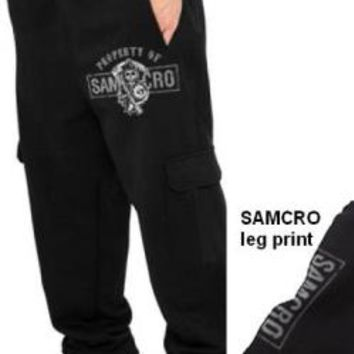 Sons Of Anarchy Sweat Pants - Property Of SAMCRO