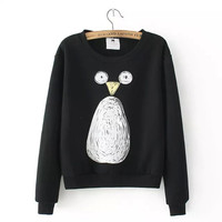 Penguin Print Sweater