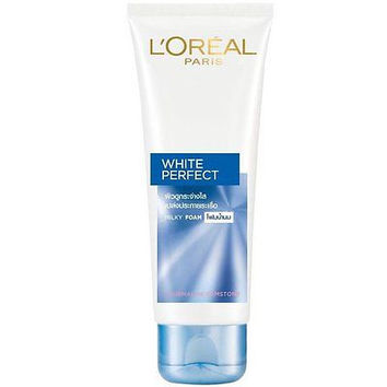 L'Oreal Paris White Perfect Milky Foam Tourmaline Facial Cleanser 100ml 3.4oz